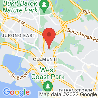 Map showing Baker & Cook Sunset Way