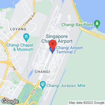 Map of Salvatore Ferragamo at Changi Airport, Singapore, Singapore 819643