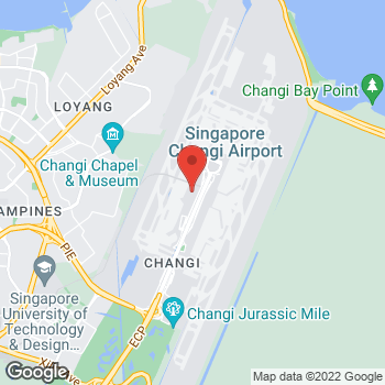 Map of Salvatore Ferragamo at 65 Airport Boulevard, Singapore, Singapore 819663