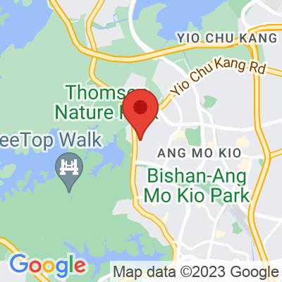 Map showing Yahava Koffee Works (Singapore)