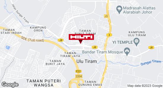 Get directions to ULU TIRAM