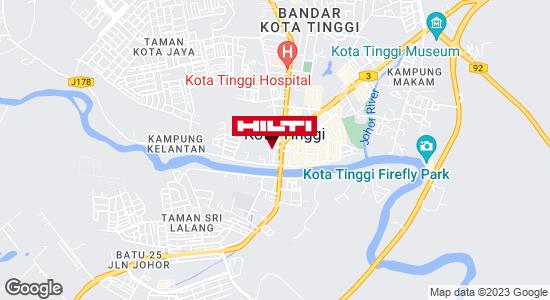 Get directions to Kota Tinggi