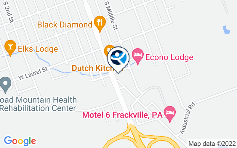 Schuylkill Health Counseling Center - Frackville Location and Directions
