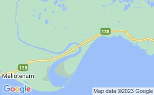 Map of Camping Zec De La Rivière-Moisie