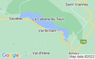 Map of Camping Bois Et Berges