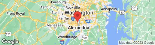 Map of 10 CATON AVENUE ALEXANDRIA, VA 22301