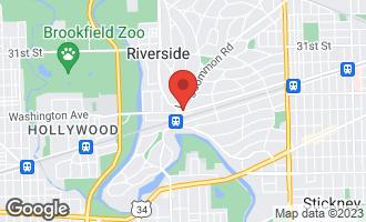 Map of 10 East Burlington Street 3F Riverside, IL 60546