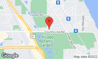 Map of 10 Heritage Drive HIGHLAND PARK, IL 60035