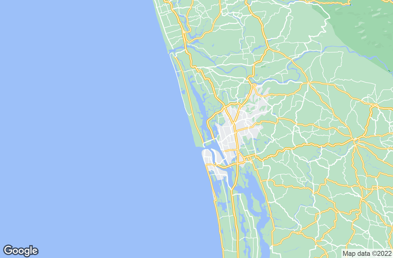 Google Map of Vypin