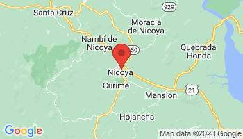 Map of Nicoya