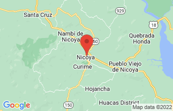 Map of Nicoya