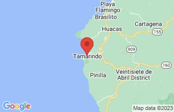 Map of Playa Tamarindo