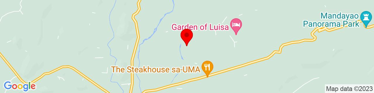 Google Map of 10.3501, 123.0355