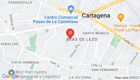 Ubicación o localización del proyecto de finca raíz  en venta: Edificio Ontario en Blas De Lezo - Cartagena - Colombia