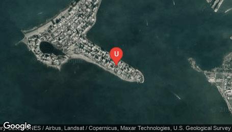 Ubicación o localización del proyecto de finca raíz  en venta: Mar de Luna en Castillogrande - Cartagena - Colombia