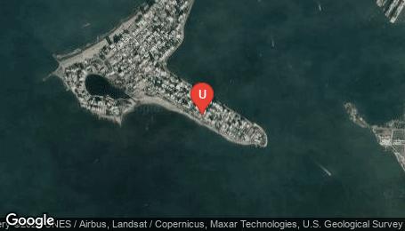 Ubicación o localización del proyecto de finca raíz  en venta: ONE Castillogrande en Castillogrande - Cartagena - Colombia
