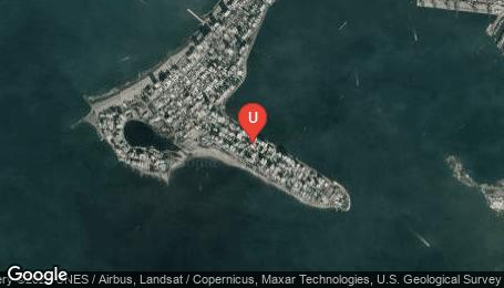 Ubicación o localización del proyecto de finca raíz  en venta: Edificio Mar de Cristal en Castillogrande - Cartagena - Colombia