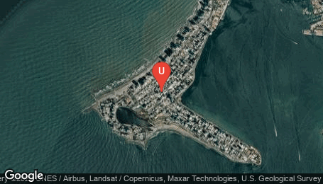 Ubicación o localización del proyecto de finca raíz  en venta: Acuarela en Bocagrande - Cartagena - Colombia