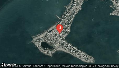 Ubicación o localización del proyecto de finca raíz  en venta: Edificio Navalera en Bocagrande - Cartagena - Colombia