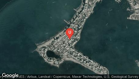 Ubicación o localización del proyecto de finca raíz  en venta: Proyecto Turistico en Bocagrande - Cartagena - Colombia
