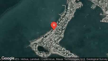 Ubicación o localización del proyecto de finca raíz  en venta: Palmetto Eliptic en Bocagrande - Cartagena - Colombia