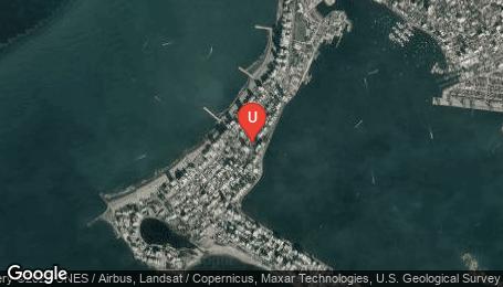 Ubicación o localización del proyecto de finca raíz  en venta: Senza en Bocagrande - Cartagena - Colombia