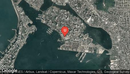 Ubicación o localización del proyecto de finca raíz  en venta: Edificio Vista Bahia en Manga - Cartagena - Colombia