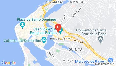 Ubicación o localización del proyecto de finca raíz  en venta: San Lázaro en El Espinal - Cartagena - Colombia