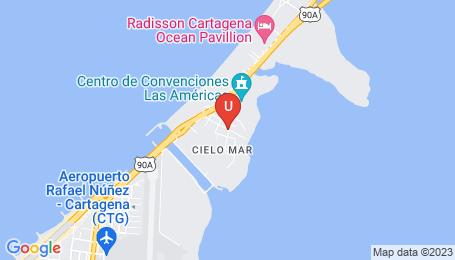 Ubicación o localización del proyecto de finca raíz  en venta: Ferrara en Cielo Mar - Cartagena - Colombia