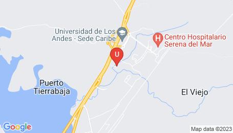 Ubicación o localización del proyecto de finca raíz  en venta: Zinnia Club House en Serena Del Mar - Cartagena - Colombia