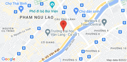 Directions to Veggie Saigon Restaurant