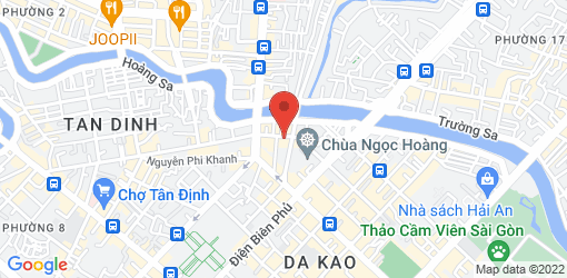 Directions to Giac Duyen Vegetarian Restaurant