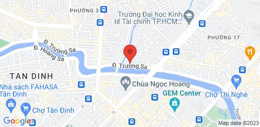 Directions to Pham Hong Phuoc Vegan Restaurant