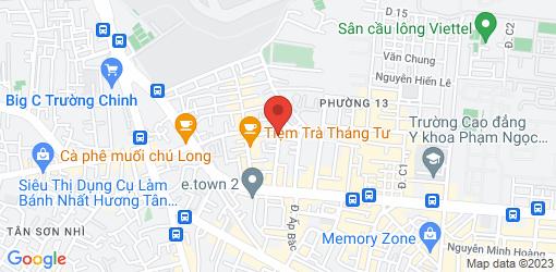 Directions to Cơm Chay Tâm An - Vegetarian Restaurant