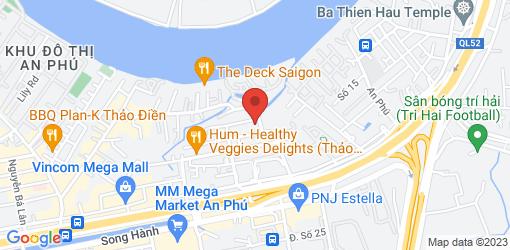 Directions to Hoa Thiên Ẩm Thực Chay