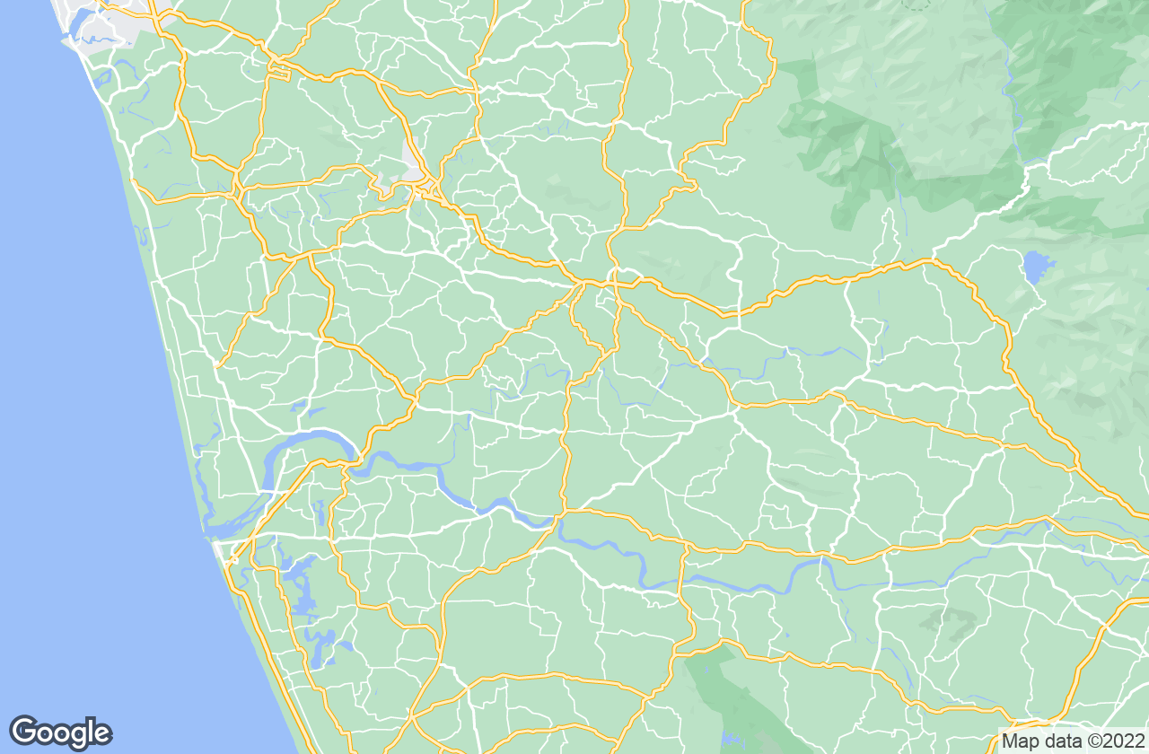 Google Map of Pulamanthole