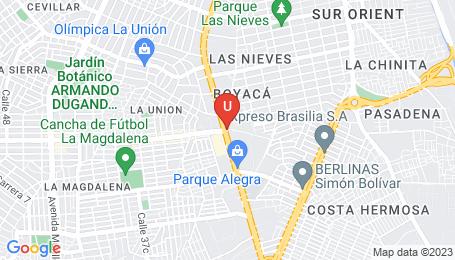 Ubicación o localización del proyecto de finca raíz  en venta: Torre De Las Palmas en Las Palmas - Barranquilla - Colombia
