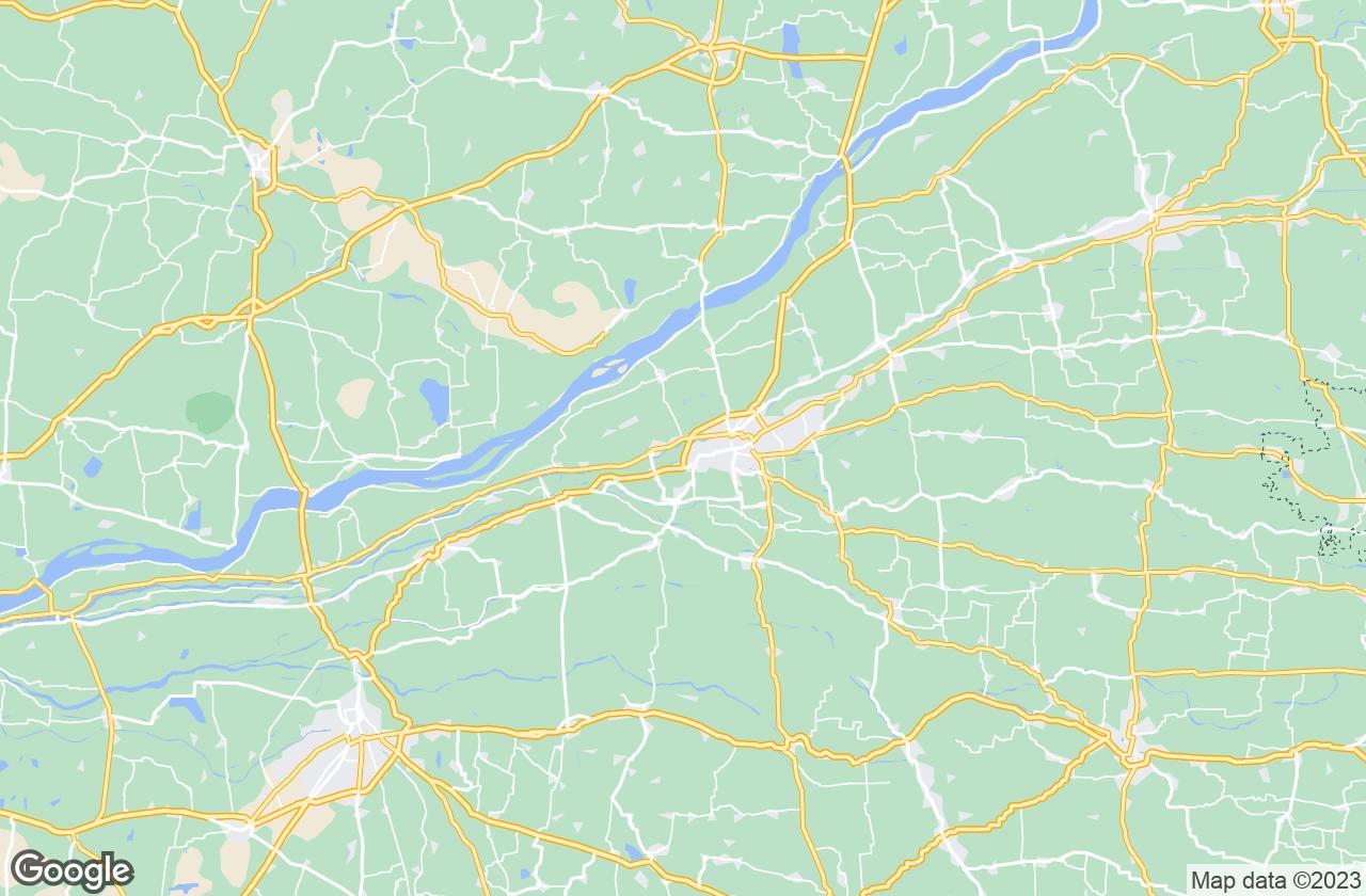 Google Map of Kumbakonam