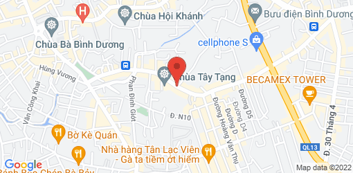 Directions to Restaurant Chay Sen Hồng