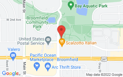 Map of Broomfield Health and Human Services