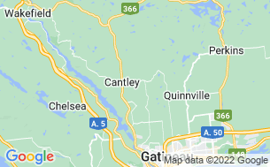 Map of Camping Cantley