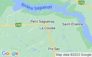 Map of Camping Rivière Petit-Saguenay