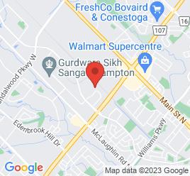 Google Map of 100+Canam+Crescent%2CBrampton%2COntario+L7A+1A9