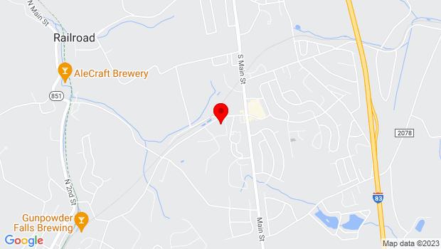 Google Map of 100 Constitution Avenue , Shrewsbury, PA 17361