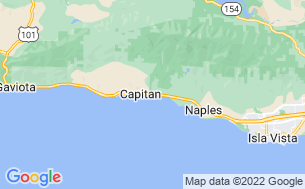 Map of Ocean Mesa at El Capitan Canyon