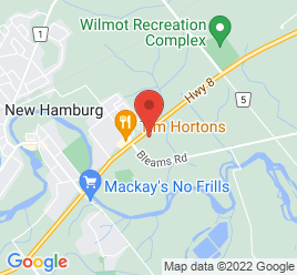 Google Map of 100+Heritage+Drive%2CNew+Hamburg%2COntario+N3A+2J4