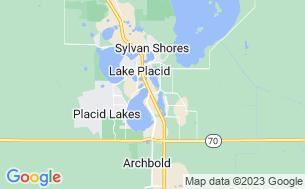 Map of Camp Florida Resort