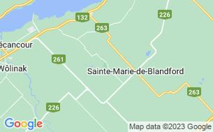 Map of Camping Parc Régional De La Rivière Gentilly
