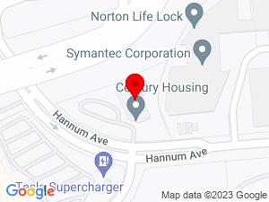 Google Map of Century Housing Corporation