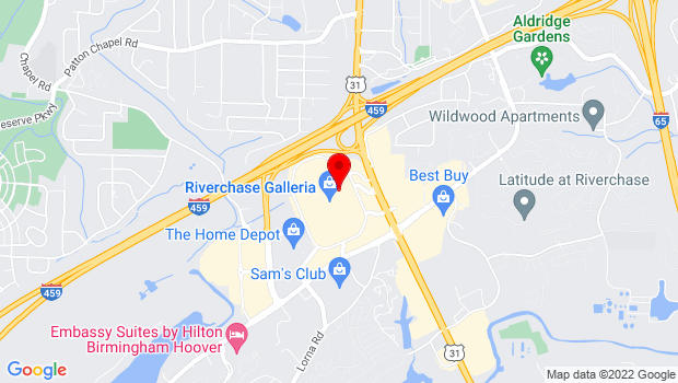 Google Map of 1000 Galleria Circle, Birmingham, AL